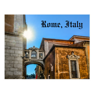 Rome Italy Architecture Postcard