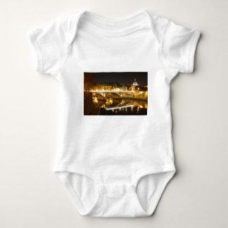 Rome, Italy at night Baby Bodysuit