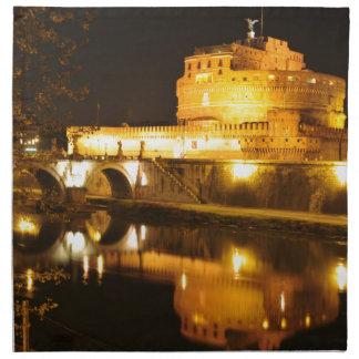Rome, Italy at night Napkin