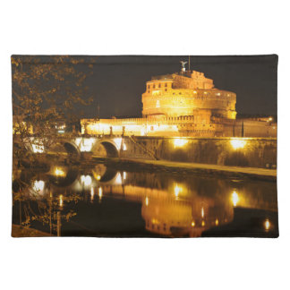 Rome, Italy at night Placemat