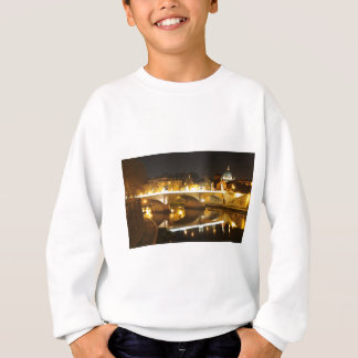 Rome, Italy at night Sweatshirt
