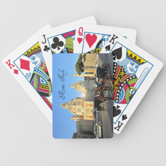 Rome, Italy Bicycle Playing Cards