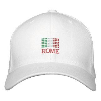 Rome Italy Cap - Rome Italian Flag Hat Embroidered Cap