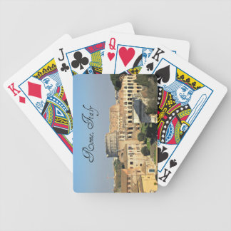Rome, Italy - Colosseum Bicycle Playing Cards