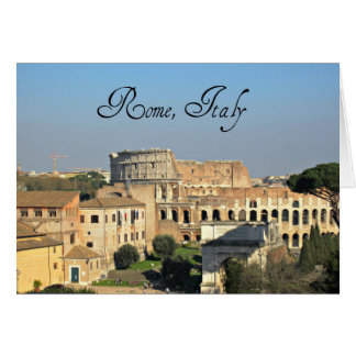 Rome, Italy - Colosseum Card