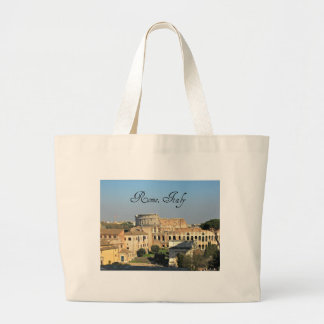 Rome, Italy - Colosseum Large Tote Bag