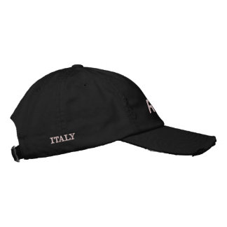 ROME ITALY EMBROIDERED CAP