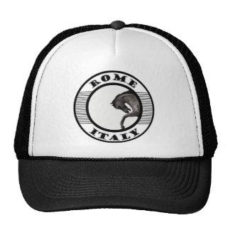 rome italy trucker hat