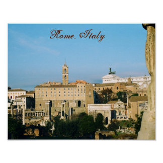 """""""Rome, Italy III"""" Poster"""