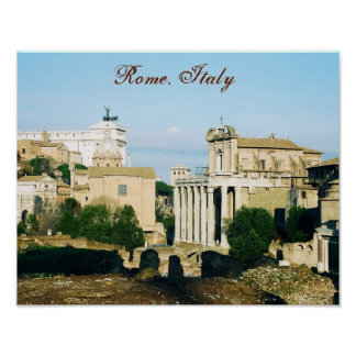 """""""Rome, Italy IV"""" Poster"""