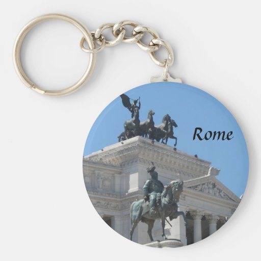Rome, Italy Keychains