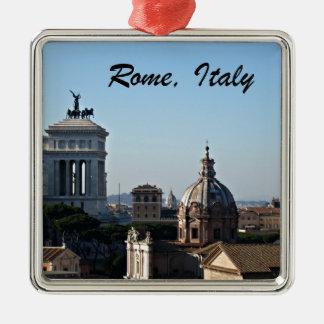 Rome, Italy Metal Ornament