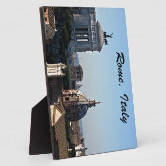 Rome, Italy Plaque