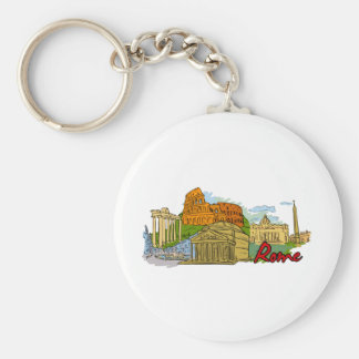 Rome - Italy.png Keychain