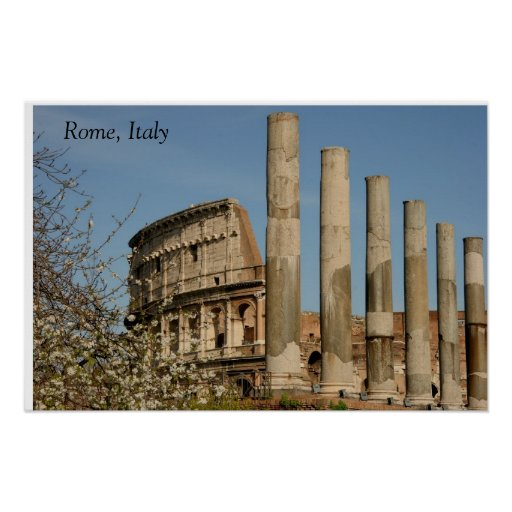 Rome, Italy Posters