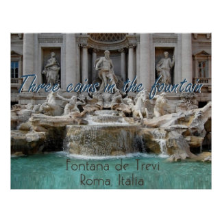 ROME Italy POSTER Print