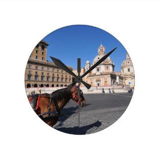 Rome, Italy Round Clock