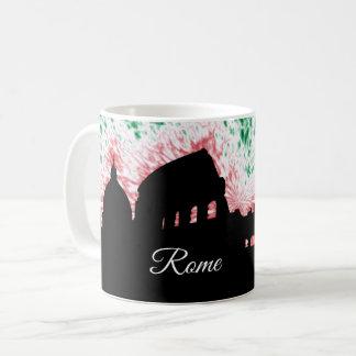 Rome Italy Silhouette Coffee Mug