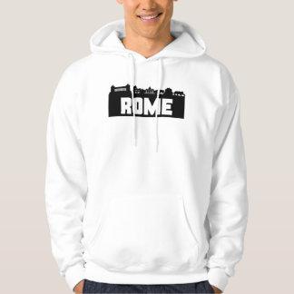 Rome Italy Skyline Hoodie