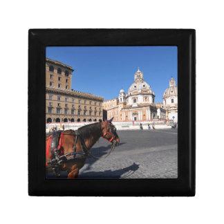 Rome, Italy Small Square Gift Box