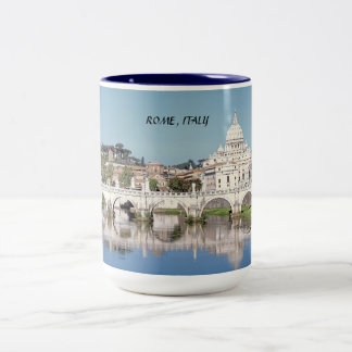 ROME, ITALY Two-Tone COFFEE MUG