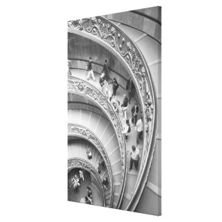 Rome Italy, Vatican Staircase 3 Gallery Wrap Canvas