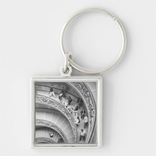 Rome Italy, Vatican Staircase 3 Key Chains