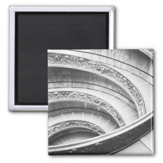 Rome Italy, Vatican Staircase Square Magnet