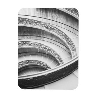 Rome Italy, Vatican Staircase Rectangular Photo Magnet