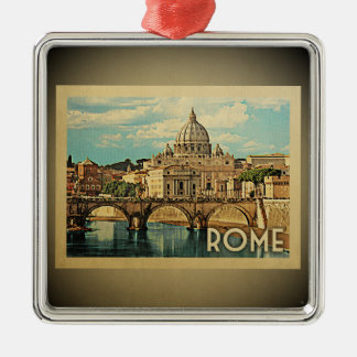 Rome Italy Vintage Travel Ornament