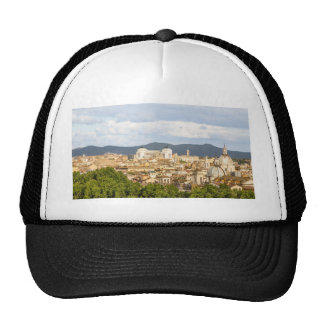 Rome panorma day in the summer cap