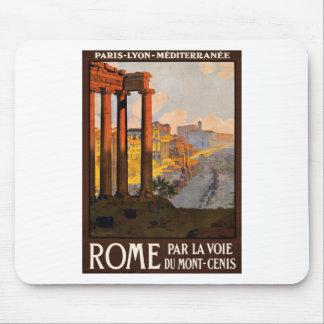 Rome par la voie du Mont-Cenis Mouse Pad