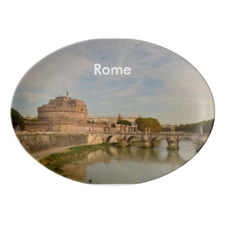 Rome Porcelain Serving Platter