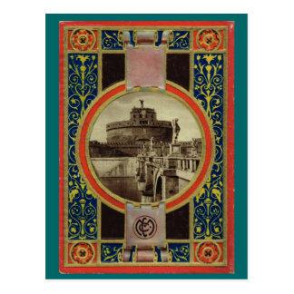 Rome, Postcard book cover  4 1900
