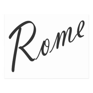 Rome Products! Postcard