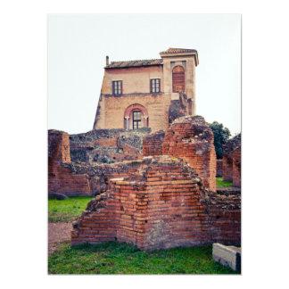 Rome ruins 17 cm x 22 cm invitation card