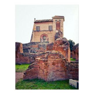 Rome ruins custom announcement