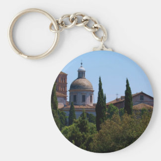 Rome s Skyline Key Chains
