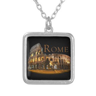 Rome Silver Plated Necklace