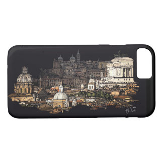 Rome skyline architecture iPhone 8/7 case
