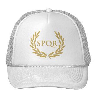 Rome SPQR Roman Senate Seal Cap