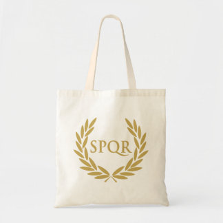 Rome SPQR Roman Senate Seal Tote Bag