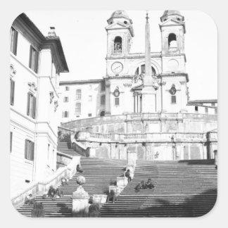 Rome Square Sticker