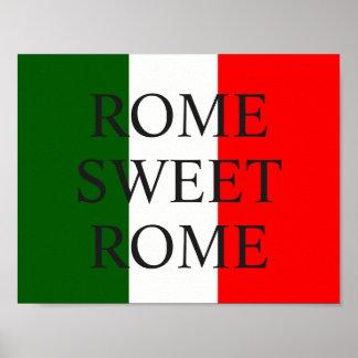 ROME, SWEET ROME! POSTER