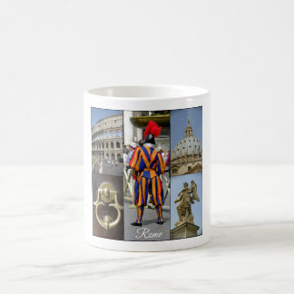 Rome The Eternal City Collage Coffee Mug