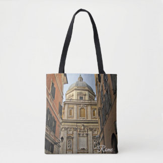 Rome The Eternal City Collage Tote Bag