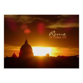 Rome, the Eternal City Poster