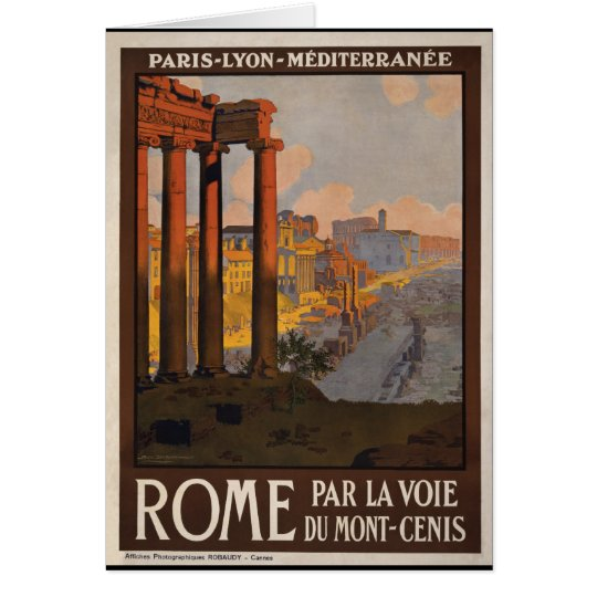 Rome through the Mont-Cenis Card