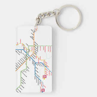 Rome transport Keychain