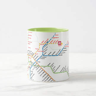 Rome transport mug